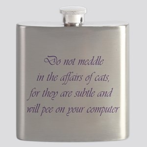 Do not meddle Flask