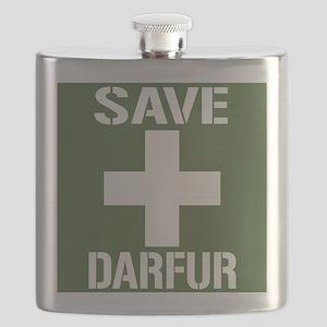 Save Darfur Flask