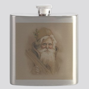 Old World Santa Flask