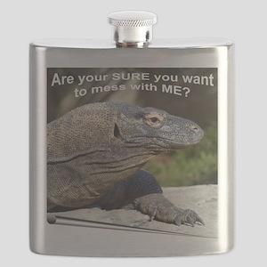 Komodo Dragon Flask