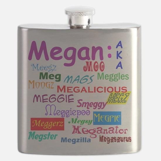 Megan's nicknames Flask