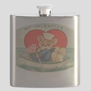 Sailor Bear Valentines Flask