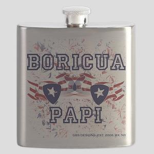 Boricua Papi Flask