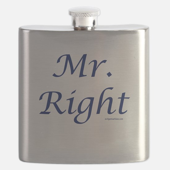 Mr. Right Flask