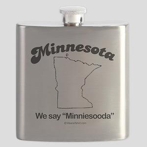 Minnesota - we say minniesooda Flask