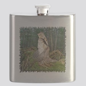 Drumming grouse Flask
