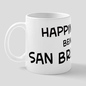 San Bruno - Happiness Mug