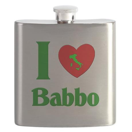 I Love Nonno Flask