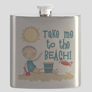 To the Beach (Boy) Flask