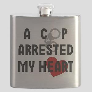 Cop Arrested Flask