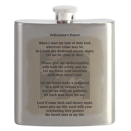 Policeman's Prayer Flask