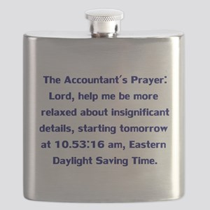 Accountant's Prayer Flask