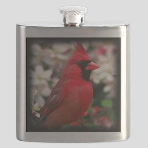 Red Cardinal Flask