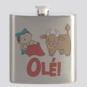 Ole! Lil Matador Flask