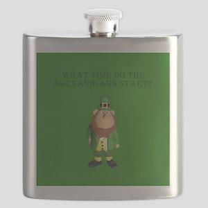 Irish Flag Leprechaun shenanigans Flask