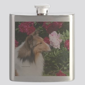 Sable Flower Flask