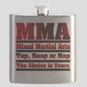MMA Mixed Martial Arts - 3 Flask