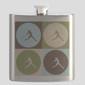 Javelin Pop Art Flask