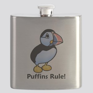 Puffins Rule! Flask
