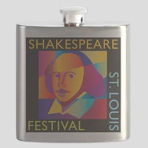 Shakespeare Festival STL Flask