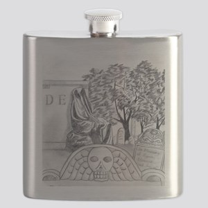 Cemetary Flask