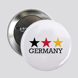 """Germany stars flag 2.25"""" Button"""