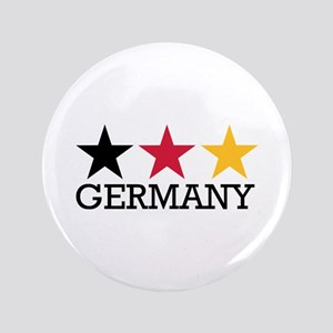 """Germany stars flag 3.5"""" Button"""