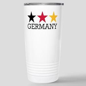 Germany stars flag Stainless Steel Travel Mug