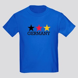 Germany stars flag Kids Dark T-Shirt