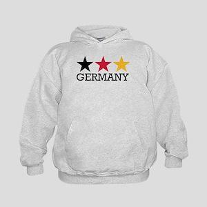 Germany stars flag Kids Hoodie