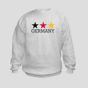 Germany stars flag Kids Sweatshirt