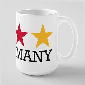 Germany stars flag Large Mug