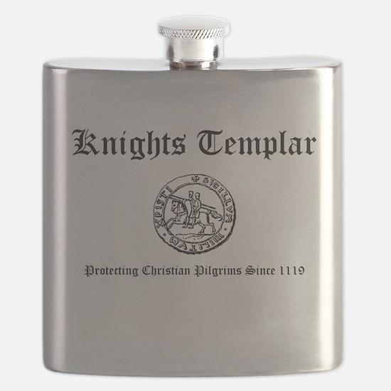 Knights Templar Pilgrims Flask