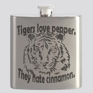 Tigers Love Pepper Flask