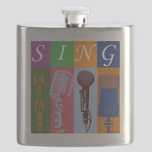 Microphones with 8 Colors and Flask