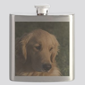 Golden Retriever Head Flask