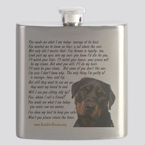 Only Thing, Rottweiler Flask
