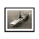 USS LAKE CHAMPLAIN Framed Panel Print