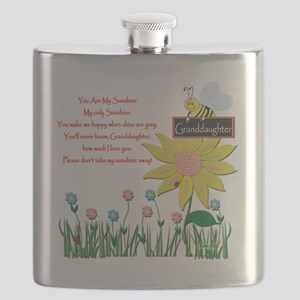 You Are My Sunshine Granddaughter Flask