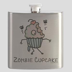 Zombie cupcake Flask