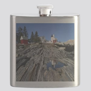 Pemaquid Point Light Flask