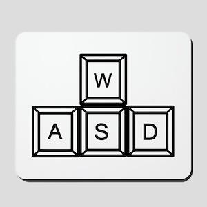 WASD keys Gaming Mousepad