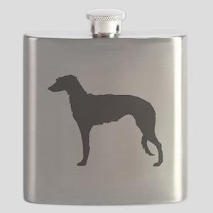 Deerhound Flask
