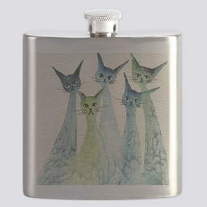Lakeland Stray Cats Flask
