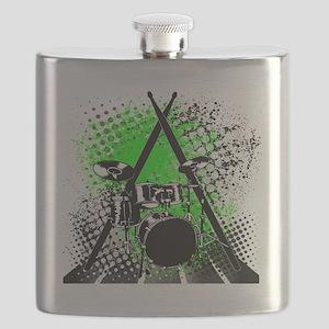 Drums & Sticks Flask