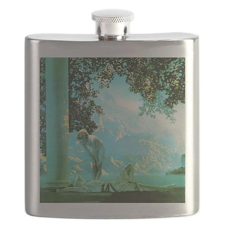Maxfield Parrish Daybreak Flask
