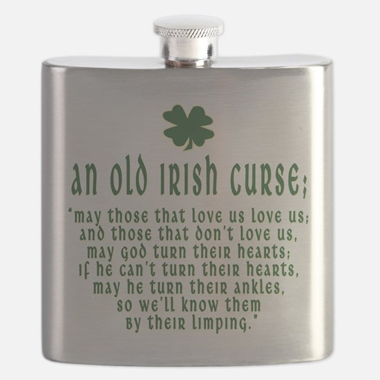 An Old irish curse Flask