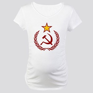 HAMMER SICLE THE STAR Maternity T-Shirt