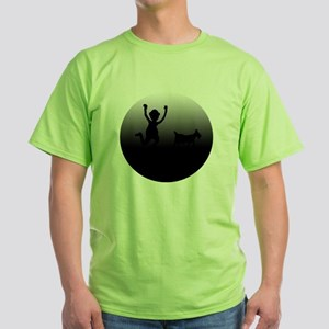 NEW GOAT SILHOUETTE Green T-Shirt