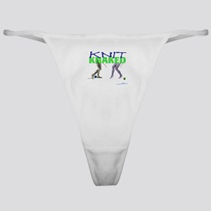 Knit Knaked Classic Thong